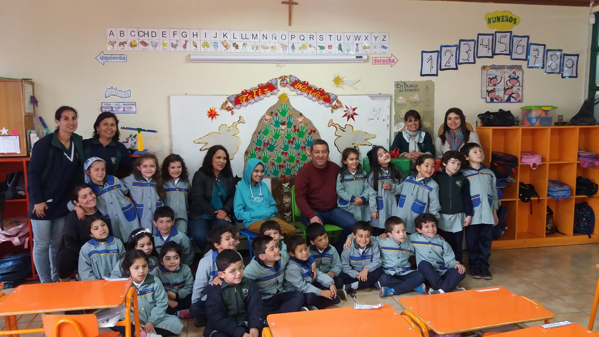 Finalización actividad solidaria Familia de Tomás Gòmez niño con tumor cerebral