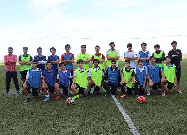 Fútbol varones media